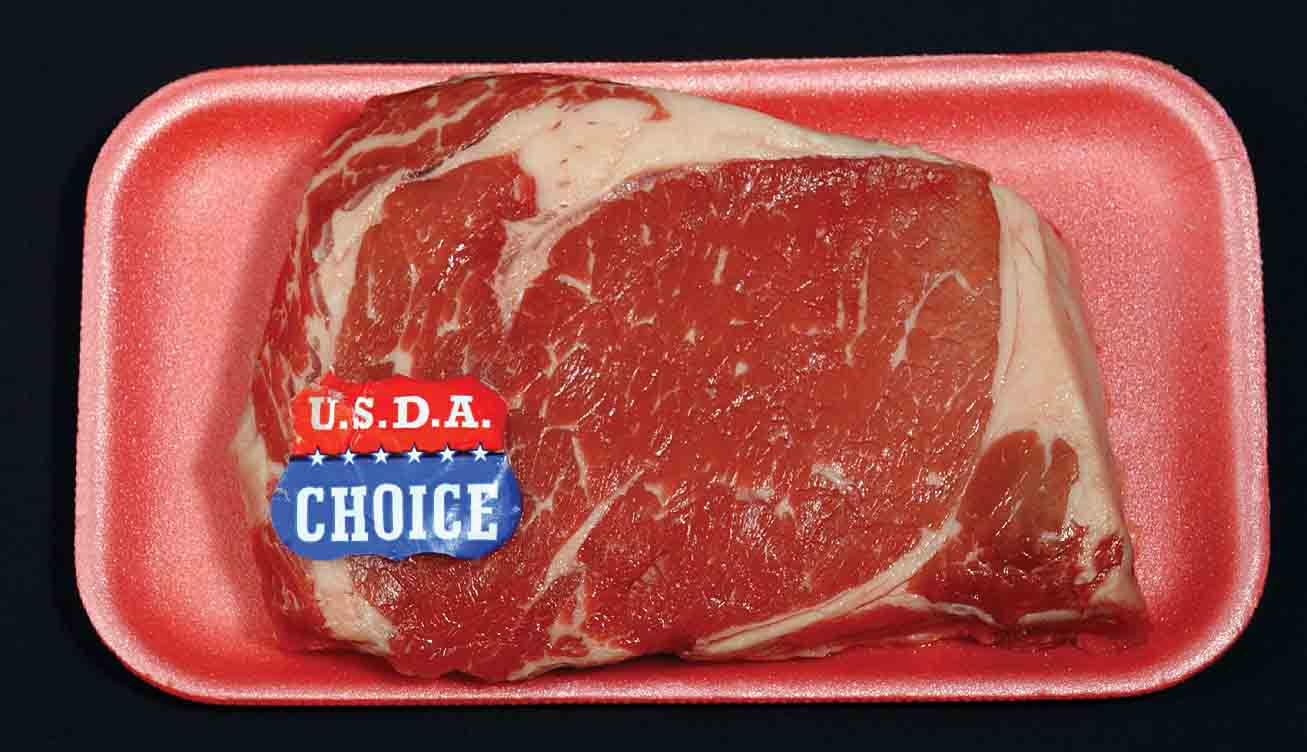 How is beef graded?