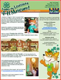 Flyer with Frankie the 4-H Fox