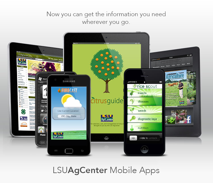 LSU AgCenter Mobile Apps