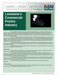 Louisiana'sCommercial Poultry Industry