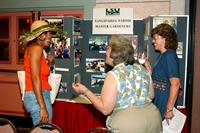 Participants visit during Master Gardener Conference