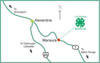 Map to 4-H Museum