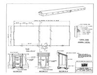 EASY DIY 4'x6' CHICKEN COOP DUCK HEN HOUSE PLANS for sale
