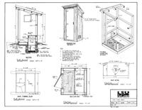 Pit Type Privy plans