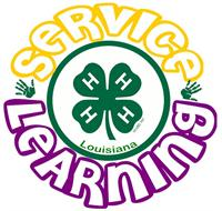 Service Learning Logo Louisiana
