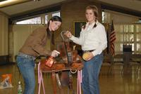Saddle Cleaning Demonstration