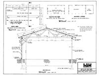 Storage building plans for pole barns, barn and sheds