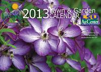 2013 Get It Growing Calendar cover photo