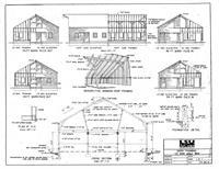 Free Small Barn Plans, Outbuilding Plans, Farm Barn Designs, DIY