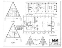 Two Story Frame Cabin plans