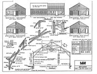 Barn Framing 36 ft. and 34 ft. plans