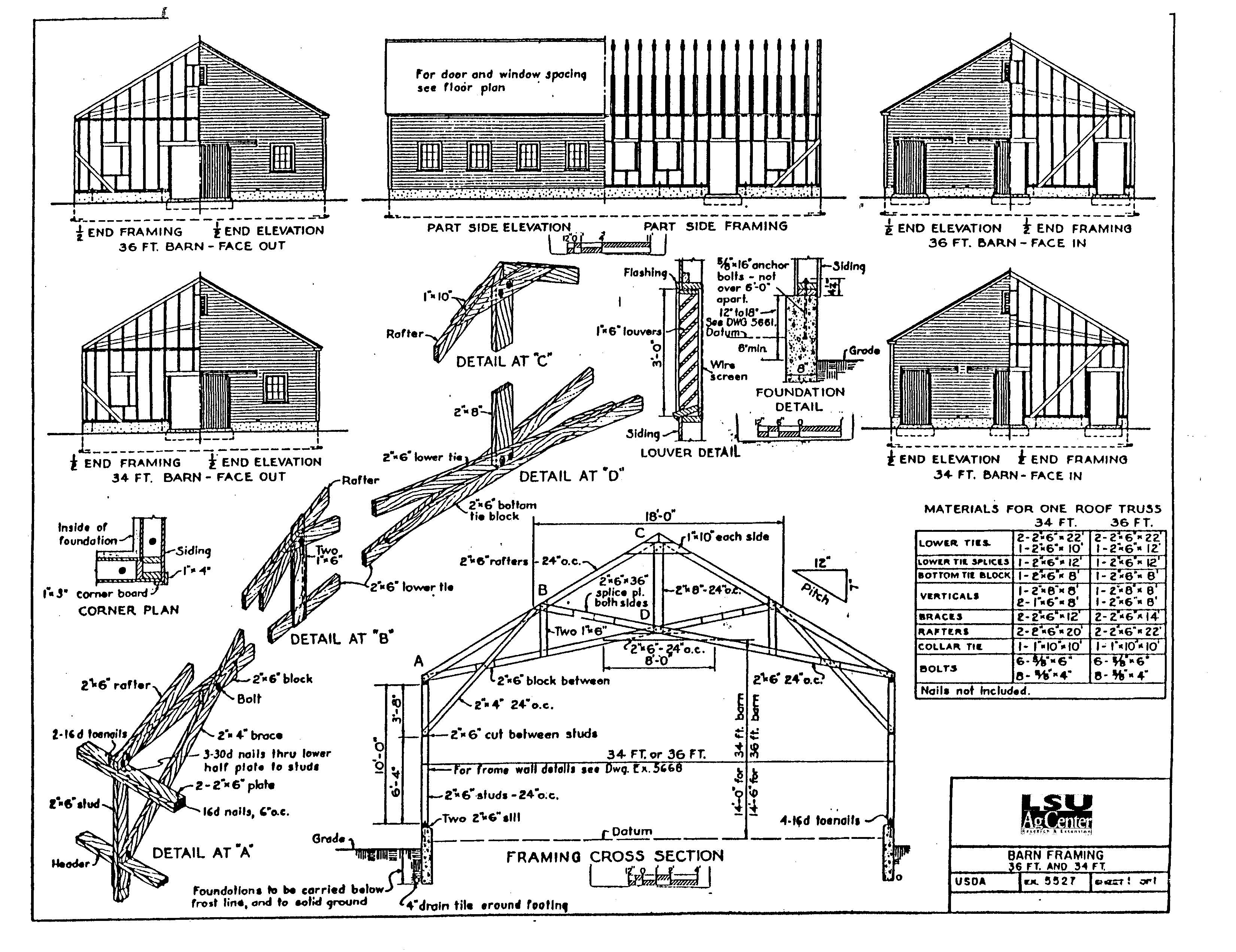 Pole barns cabin plans with a loft joy studio design Shed home plans