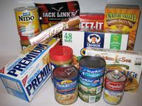 Picture of food supplies.