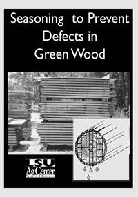 Prevent Defects in Green Wood