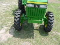 FWA on compact tractor
