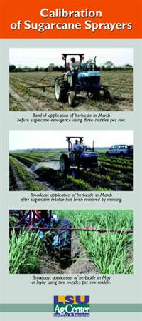 Sugarcane Sprayer Calibration