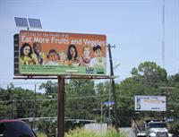 nutrition billboard