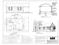 Free Detached Guest House Without Kitchen Plans: home plans with detached guest house