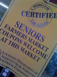 Seniors Farmer Market Coupons