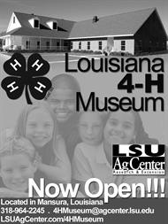 4-H Museum Ad--Square--Black & White