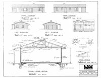Free Box Style Farmhouse Plan