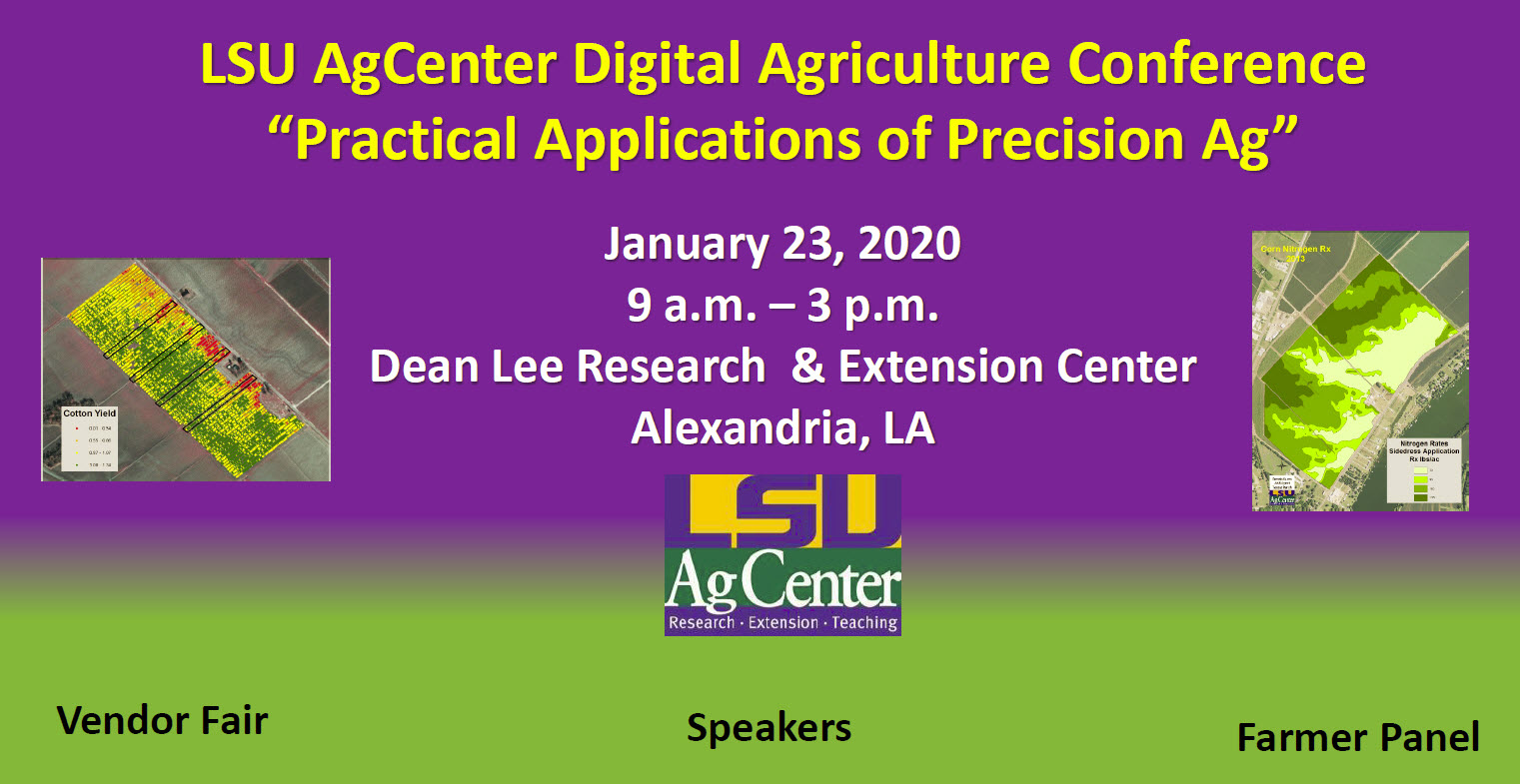 LSU AgCenter Digital Agriculture Conferencejpg