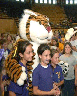 4-H Day with the Tigers