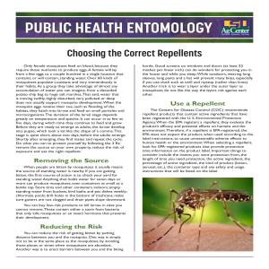 Pub 3545 - Repellents_PublicHealthEntomology_FINALpdf thumbnail