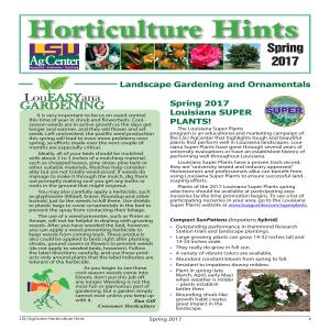Horticulture Hints Spring 2017pdf thumbnail