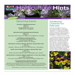 Horticulture Hints Spring 2019 NW regionpdfpdf thumbnail