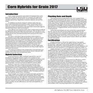 Pub 2827 - 2017 Corn Hybrids for Grain_FINALpdfpdf thumbnail