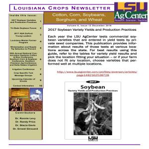 Louisiana Crops Newsletter December 2016pdf thumbnail