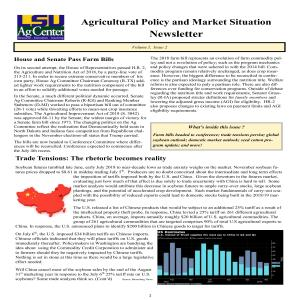 Ag Policy Newsletter - July 2018pdf thumbnail