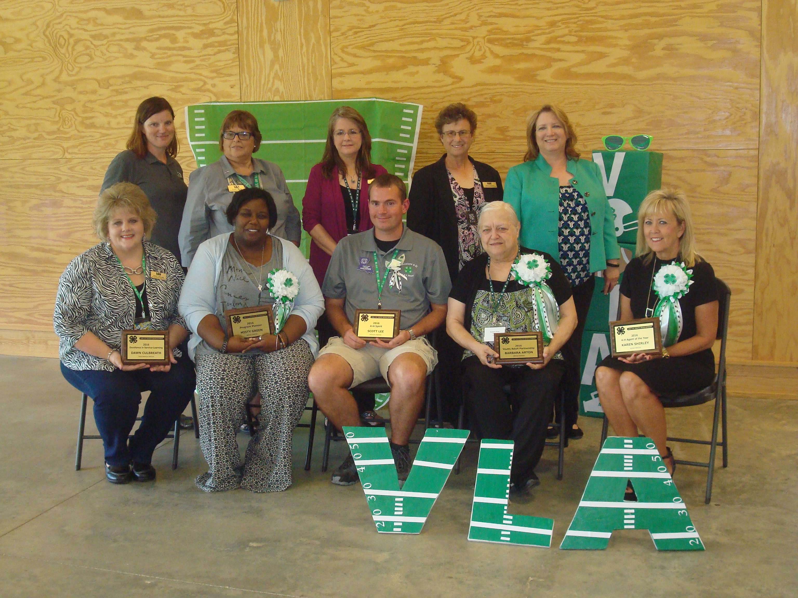 VLA Award Winners