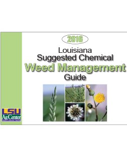 Louisiana Suggested Chemical Weed Control Guide