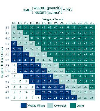 This is a BMI chart.