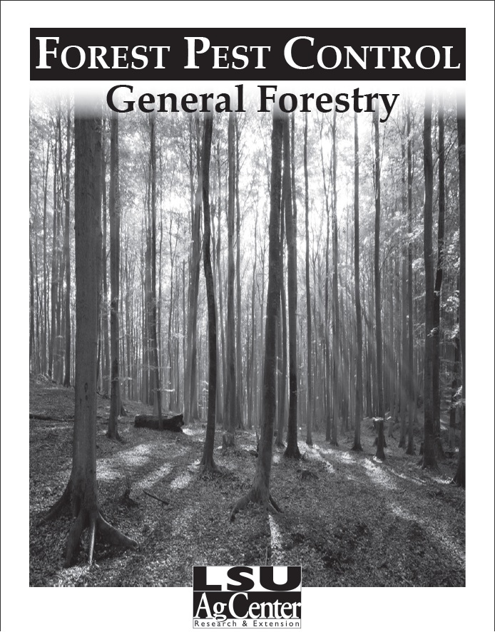 Click image for PDF of Pest and Pesticide Management on Southern Forests Manual