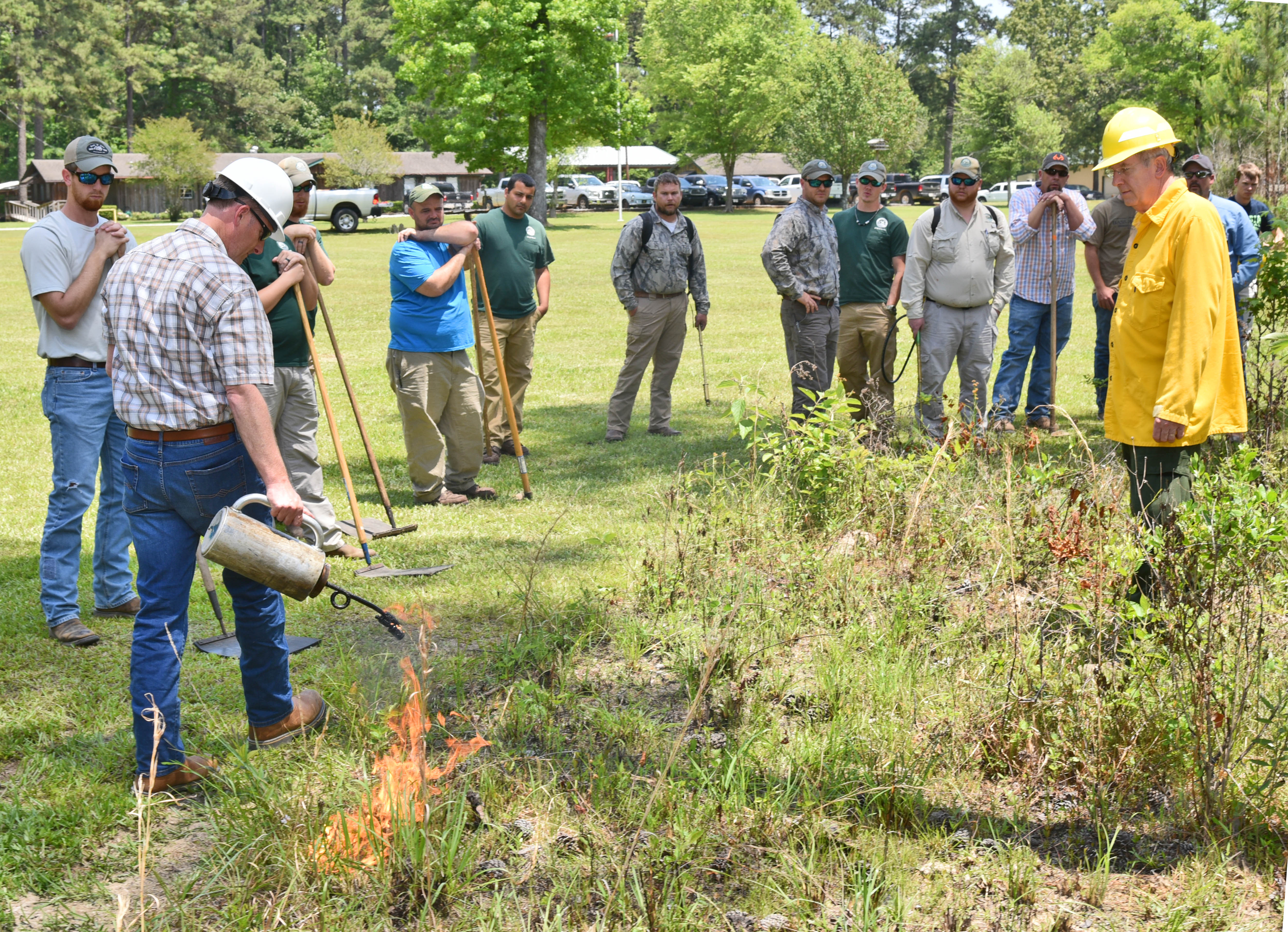 Prescribed burning workshop teaches safe methods