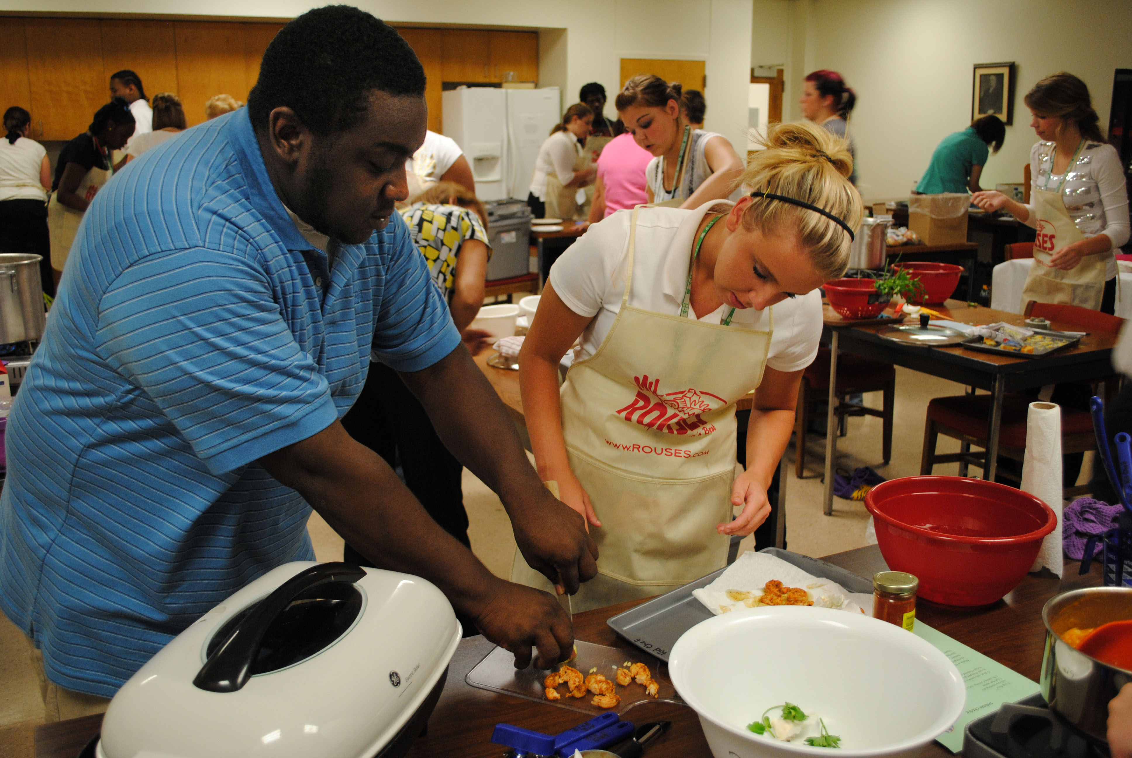 Got La. shrimp? 4-H youth learn to cook it and promote it