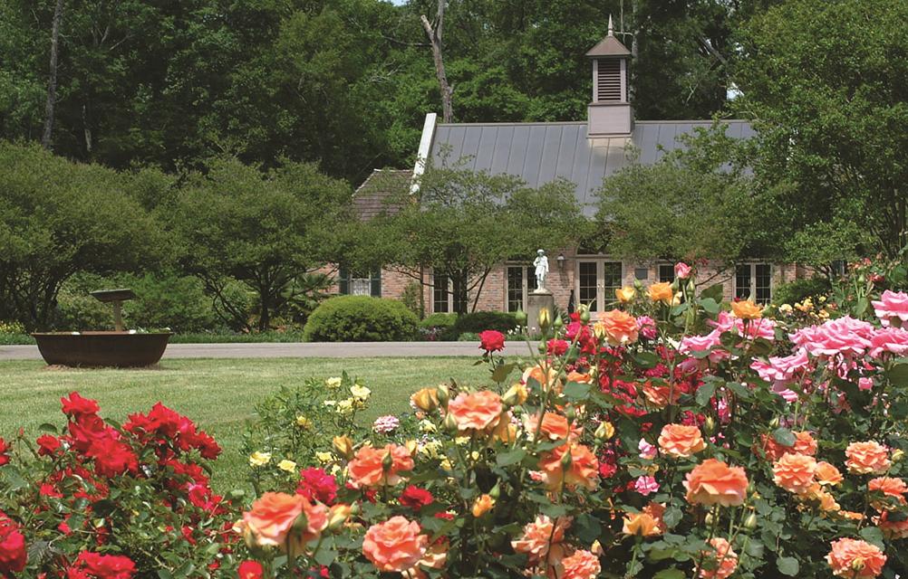 Burden Museum Gardens