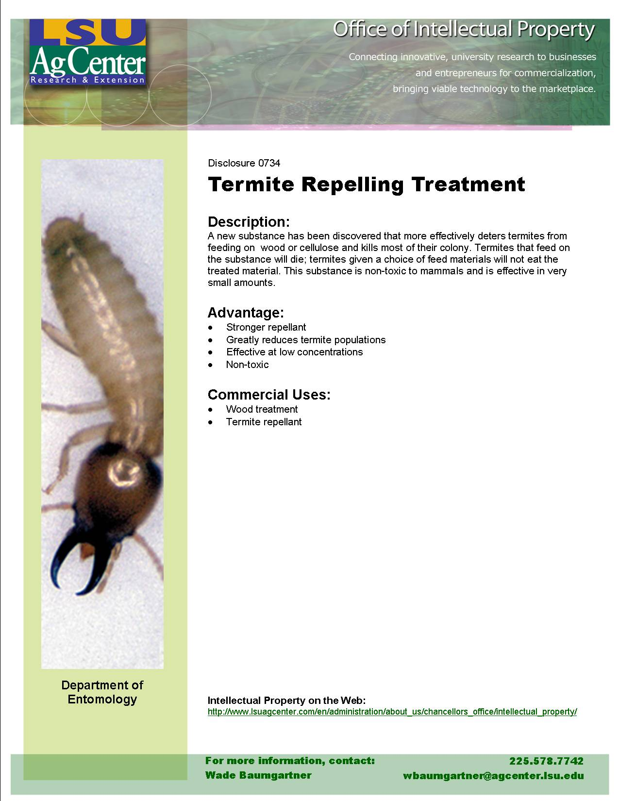 Unique Termite Deterrent