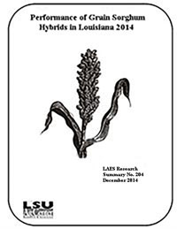 2014 Sorghum Hybrid Performance Trials and Management Guide