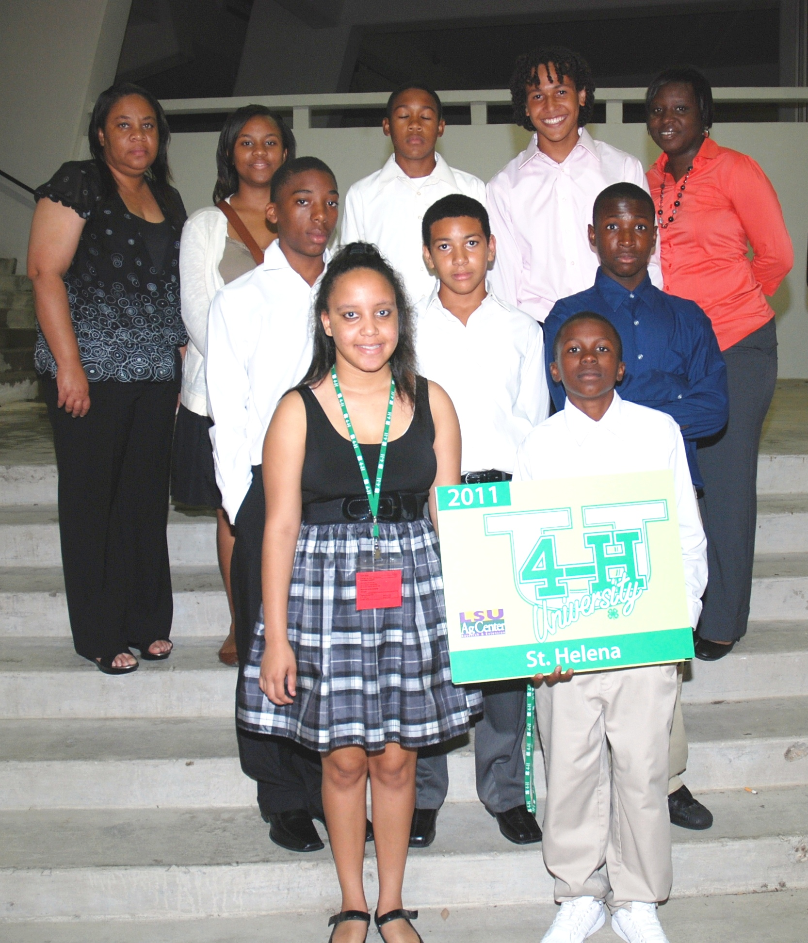 St. Helena participants at 4-H U