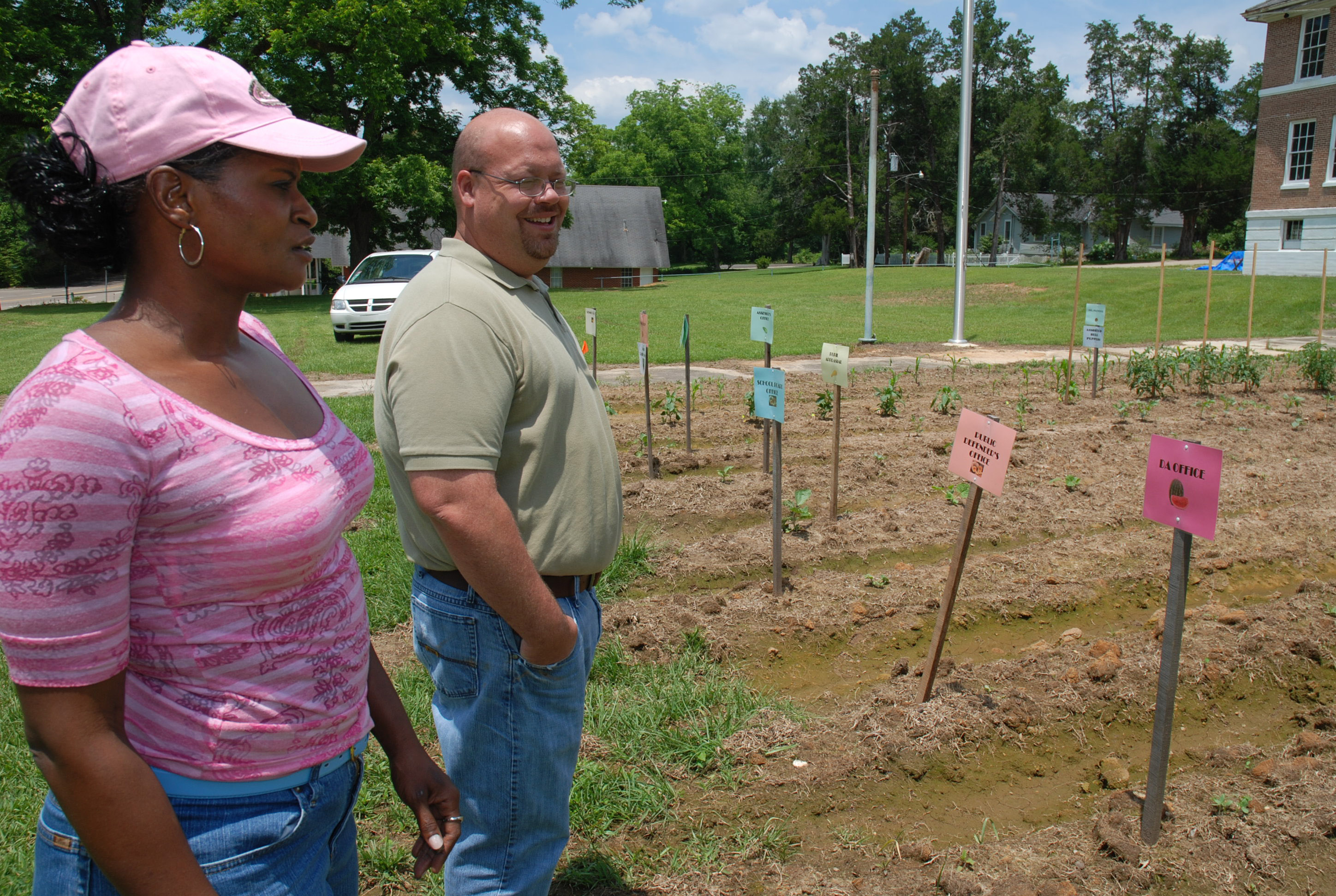 School garden designed to help fight disease
