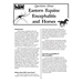Questions About Eastern Equine Encephalitis and Horses