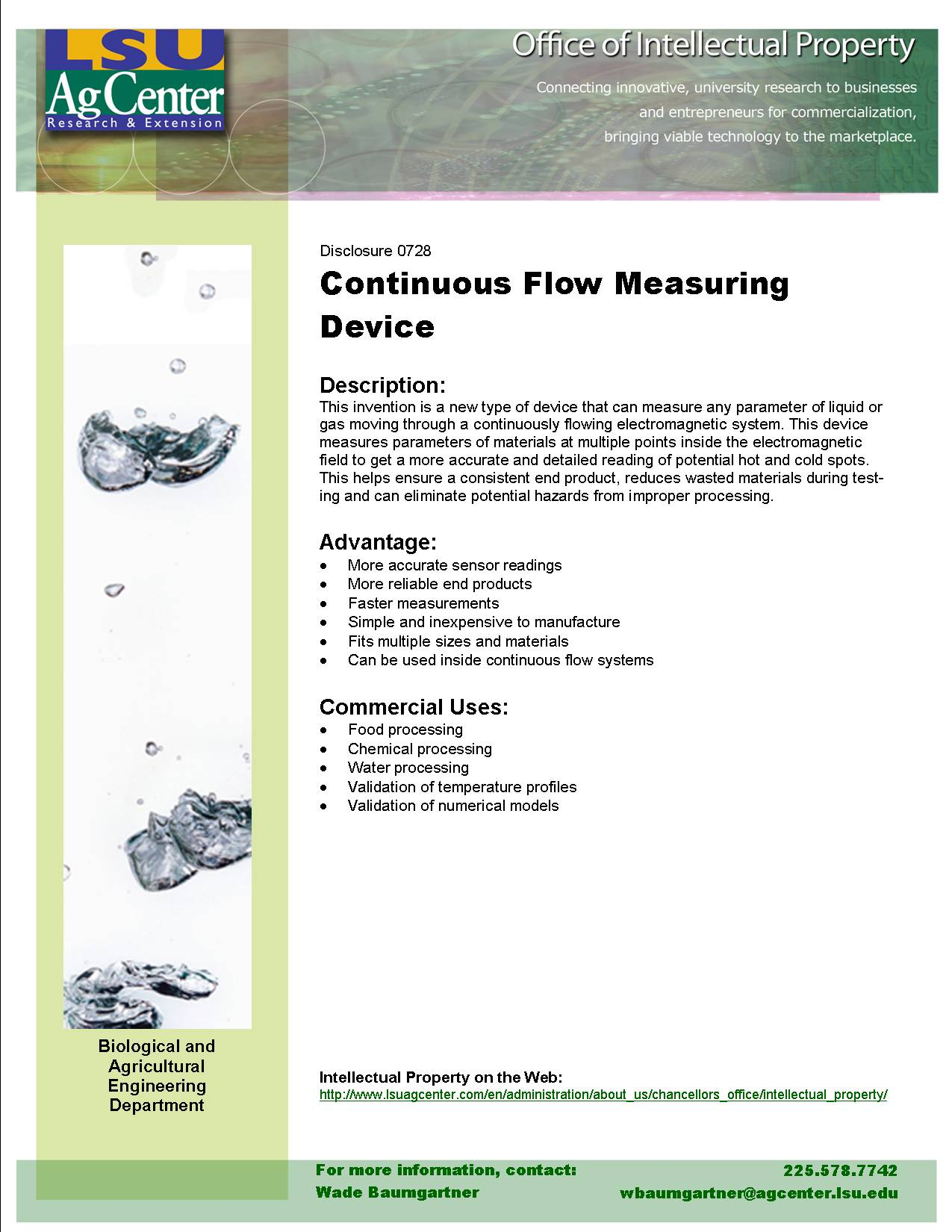 Measurement System for Profiling Continuous-Flow Microwave Cavities