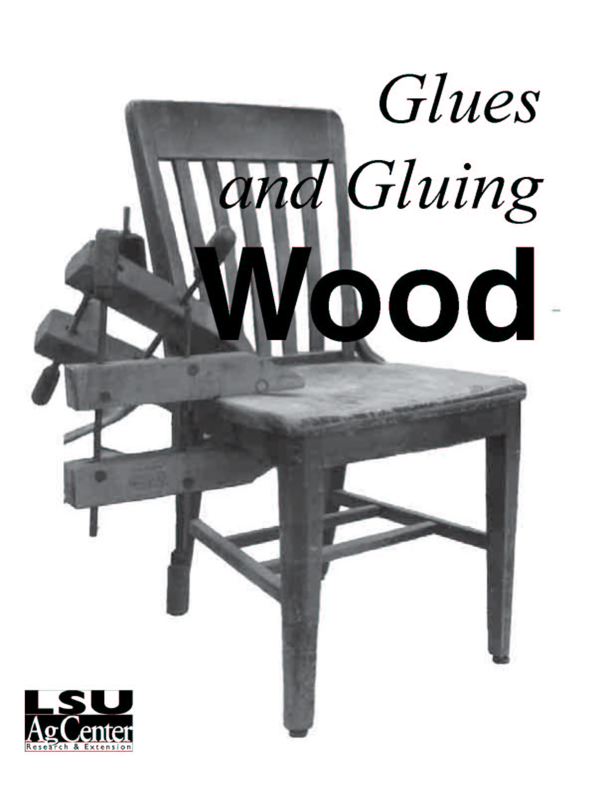 Glues and Gluing Wood