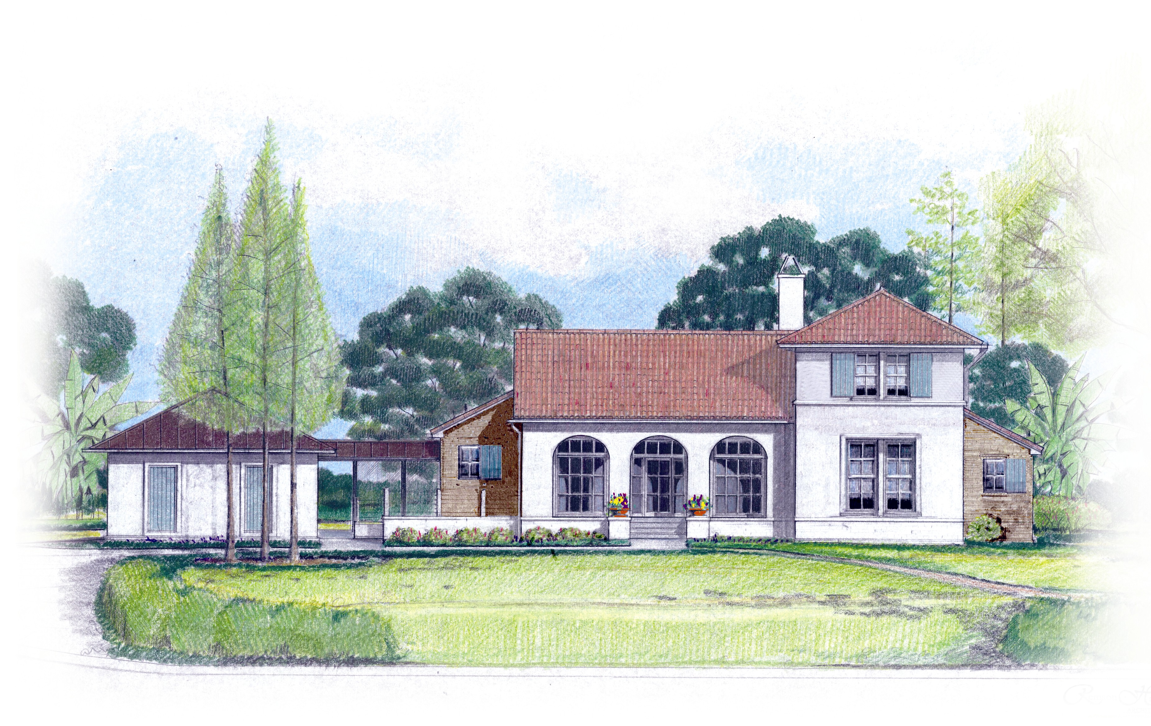 LaHouse Rendering - Summer 2007