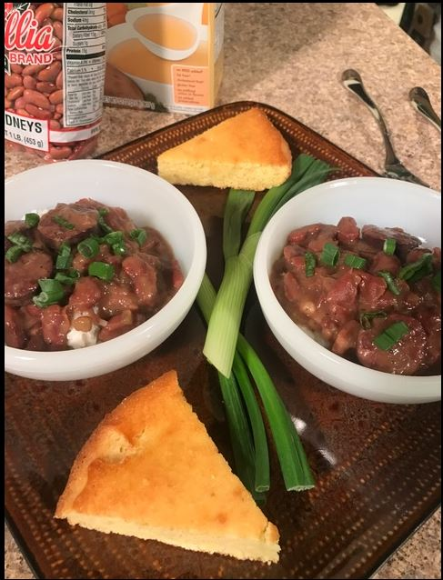 Louisiana Red Beans in an Electric Pressure Cooker