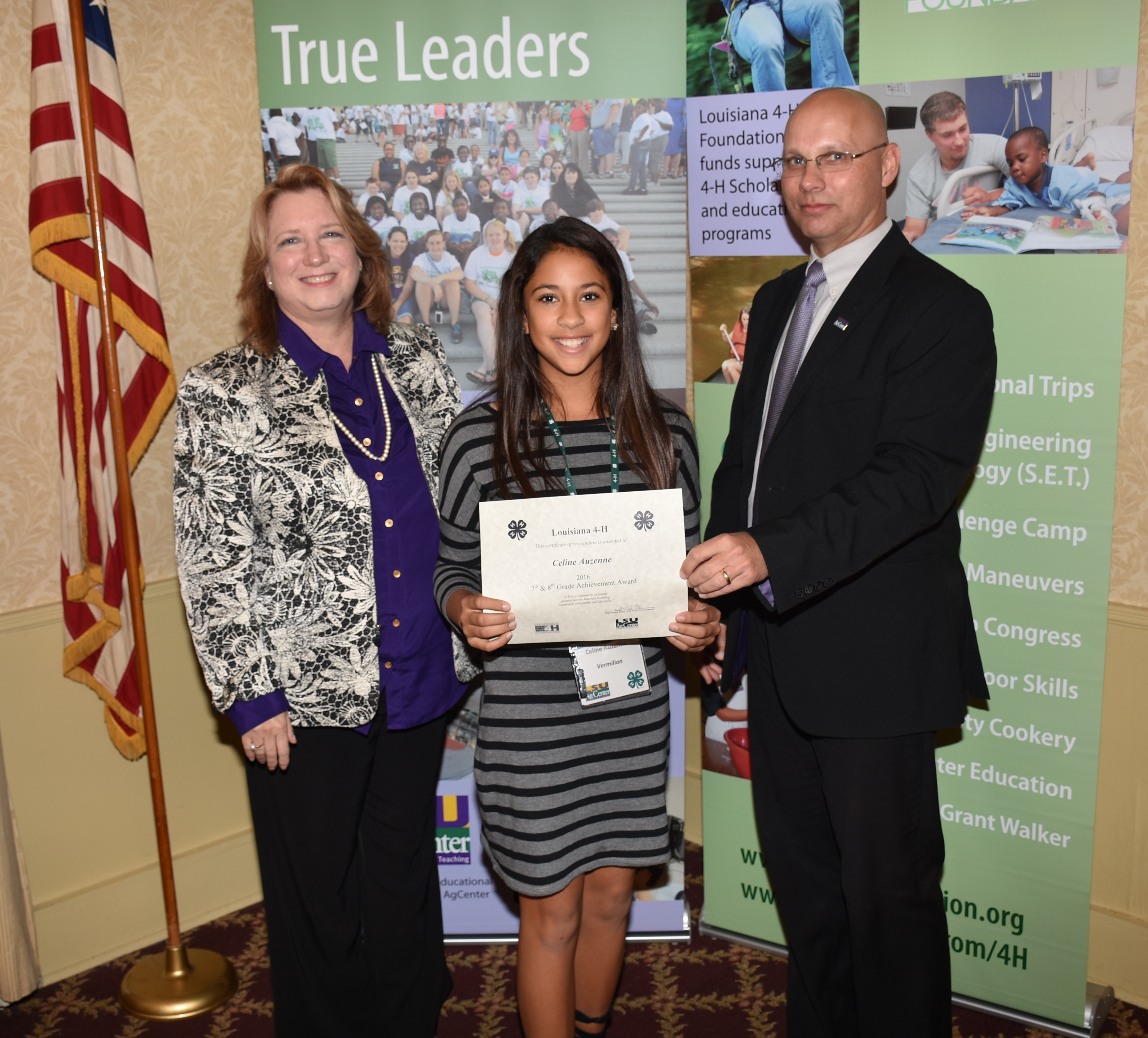 4-H'ers experience south Louisiana, receive awards